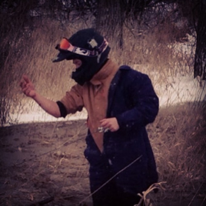It's gonna be a cold winter @webez9 @tomdrich #swampdonkeys