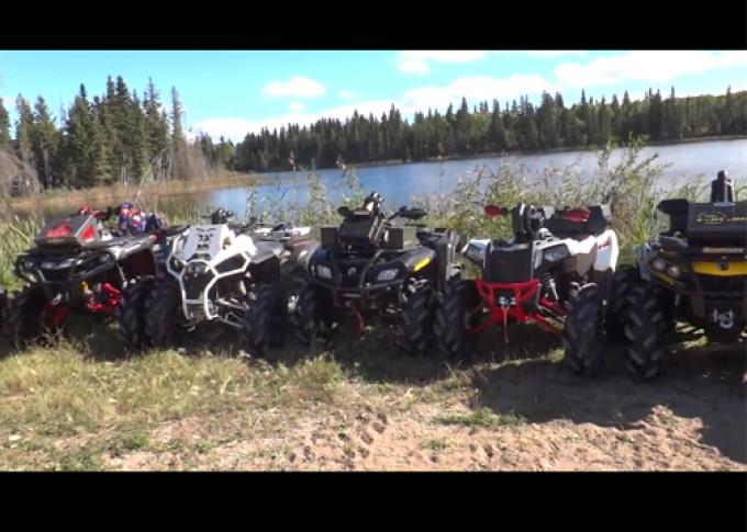Scrambler XP riding with Ostacruiser