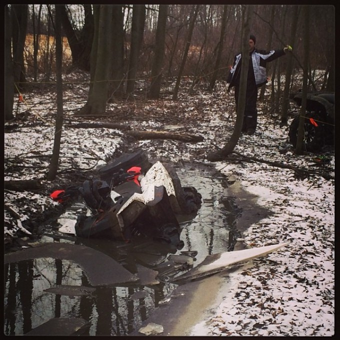 I blame the ice for not getting thru #swampdonkeys