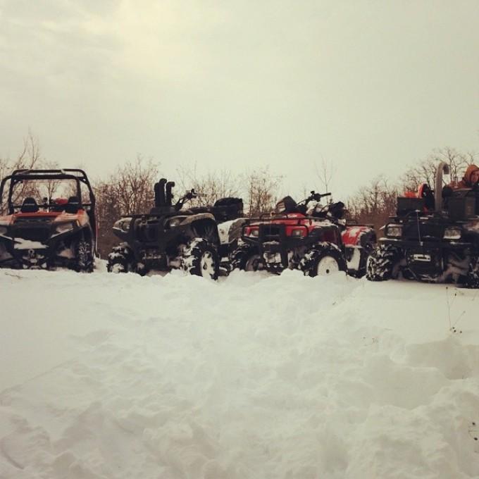 #swampdonkeys Winter ride