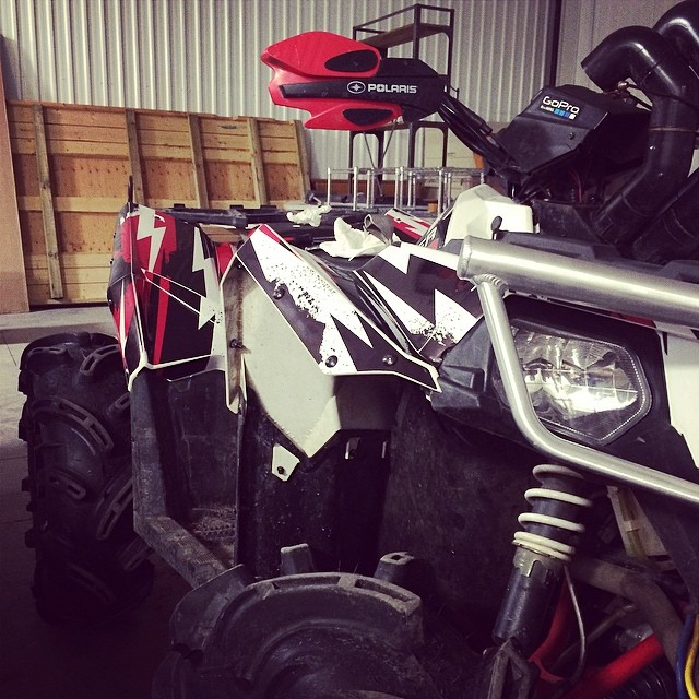 Sneak peek #swampdonkeys #scrambler #polaris