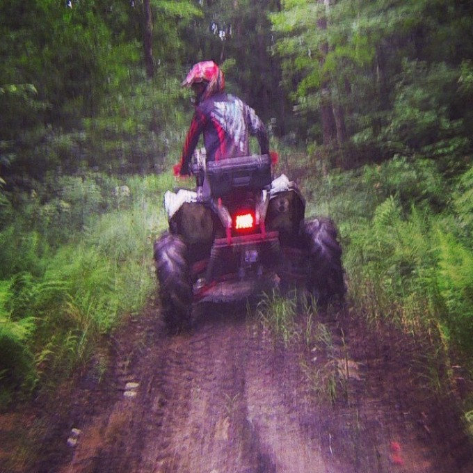 #scrambler850 ripping thru the bush #gorillaaxle #biggun #polaris #swampdonkeys