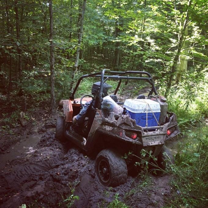 Get a lift kit man #rzr #swampdonkeys don't let Chris drive