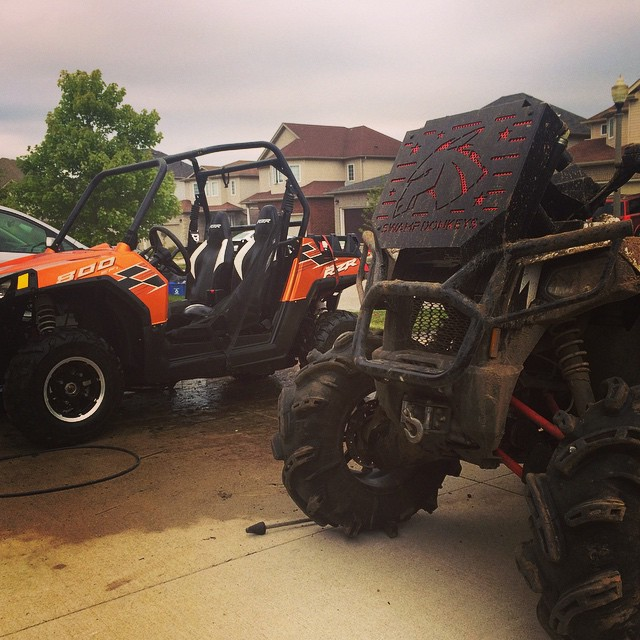 #rzr is clean #swampdonkeys