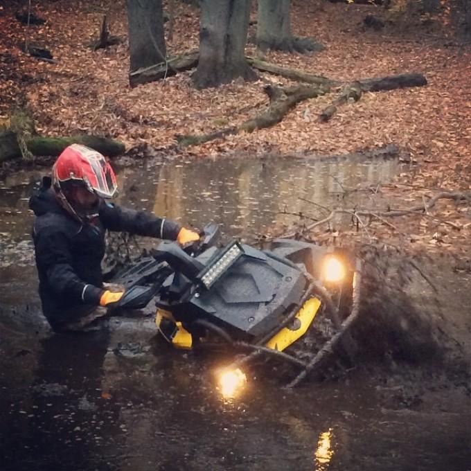 #xmr digging thru #mud #swampdonkeys style #canam #canada