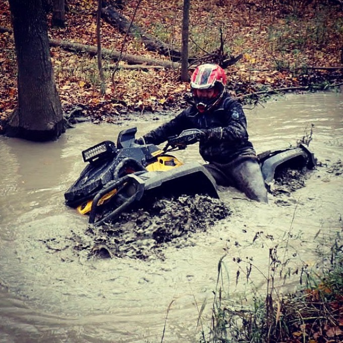 #xmr riding dirty at B&D Park today #swampdonkeys