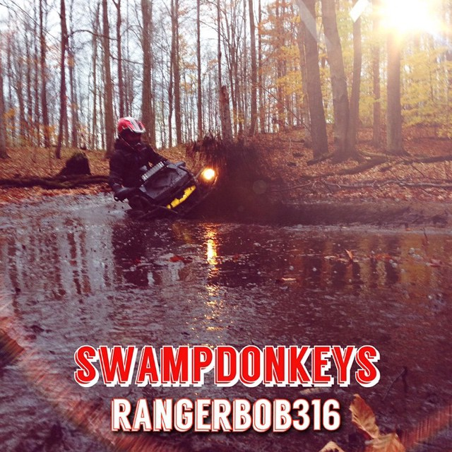Trying out the #RookieApp #swampdonkeys