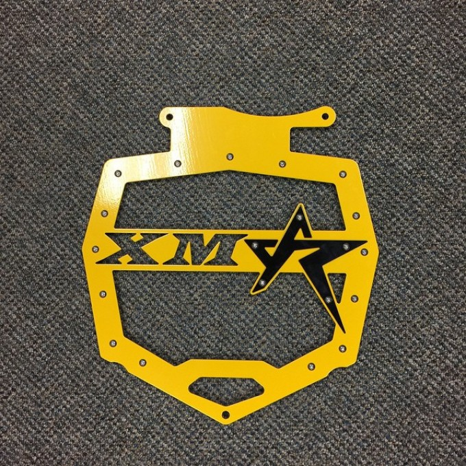 Look what is being installed this week #rogueoffroad #xmr Radiator cover #SwampDonkeys