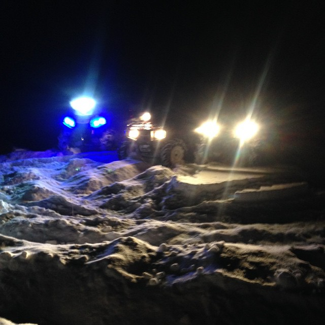 Cold night run #swampdonkeys