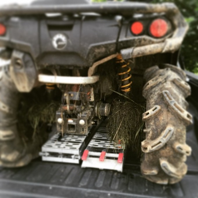 Took a little swamp home with me last night. 2015 #canam #outlander #xmr #800r #amrracing #tigertail #angeleyes #rigidindustries #gorillaaxle #SwampDonkeys Off Road Club: @webez9 @tomdrich @chriscross4653 @timmerlegrand @smithjaret