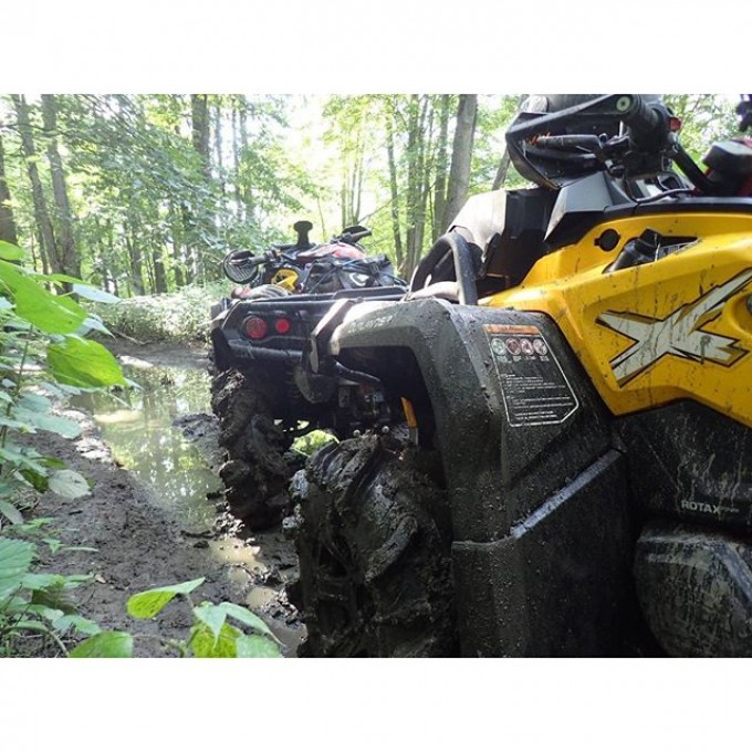 Double tap if you ride #canam #swampdonkeys