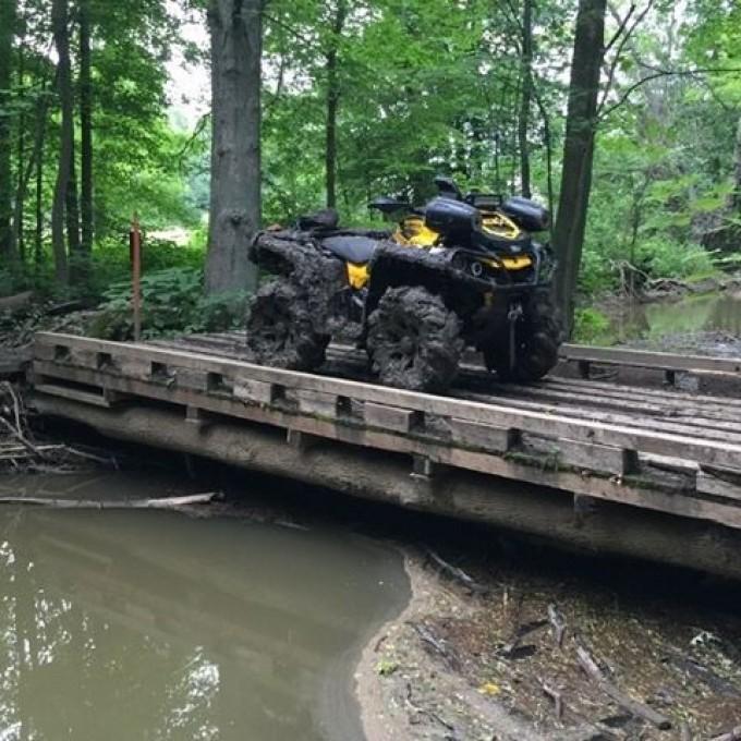 Great Lakes ATV Club #glatv trail ride #swampdonkeys