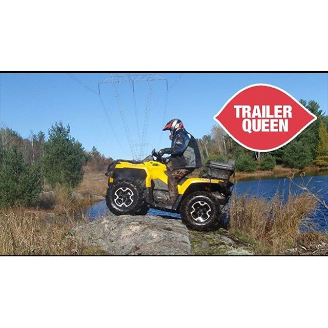 Never rides it. Trailer Queen. 2014 #canam #outlander #500 #SwampDonkeys Off Road Club: @webez9 @tomdrich @chriscross4653 @timmerlegrand @smithjaret