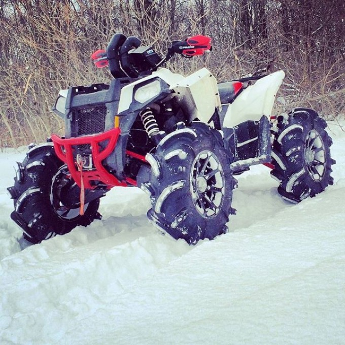 One of my favourite photos from 2 years ago New Owner: @hockeyplayerya2 2013 #Polaris #Scrambler #850 #tigertail #gorillaaxle #SwampDonkeys Off Road Club: @webez9 @tomdrich @chriscross4653 @timmerlegrand @smithjaret