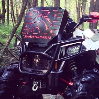 #rad #relocate available for all 2013+ #Polaris #Scrambler models. #850 and #1000 #swampdonkeys check out @hockeyplayerya2 for more sweet pictures and videos