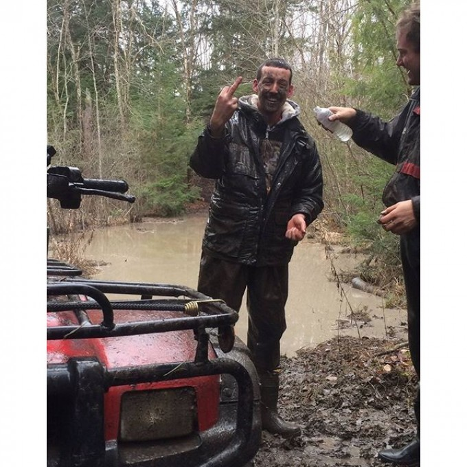 Will was having so much fun. #SwampDonkeys Off Road Club: @webez9 @tomdrich @chriscross4653 @timmerlegrand @smithjaret @adam.stanley549
