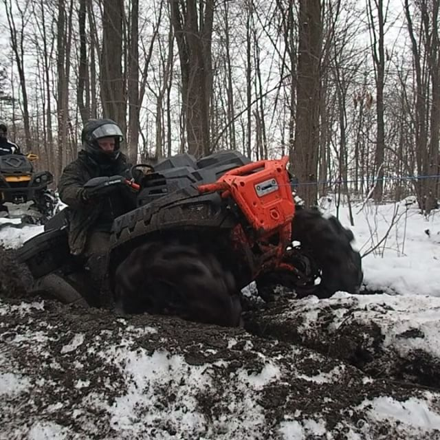 #Highlifter #Polaris #sportsman #1000 rocking it today on the #GLATV trails hanging out with the #SwampDonkeys