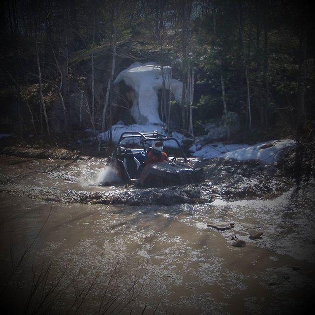 #RZR going thru the car wash puddle. #swampdonkeys