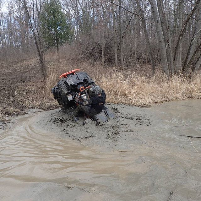 That moment when the water wheelie turns bad and goes too vertical #SwampDonkeys