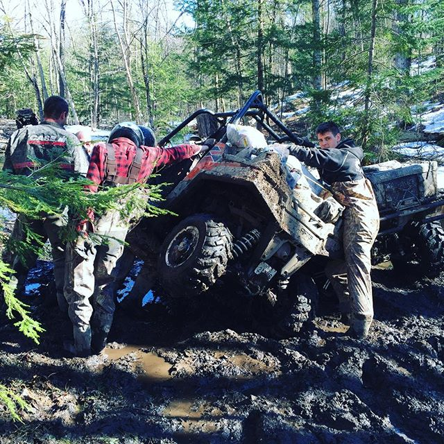 #rzr down for the count. #SwampDonkeys to the rescue.