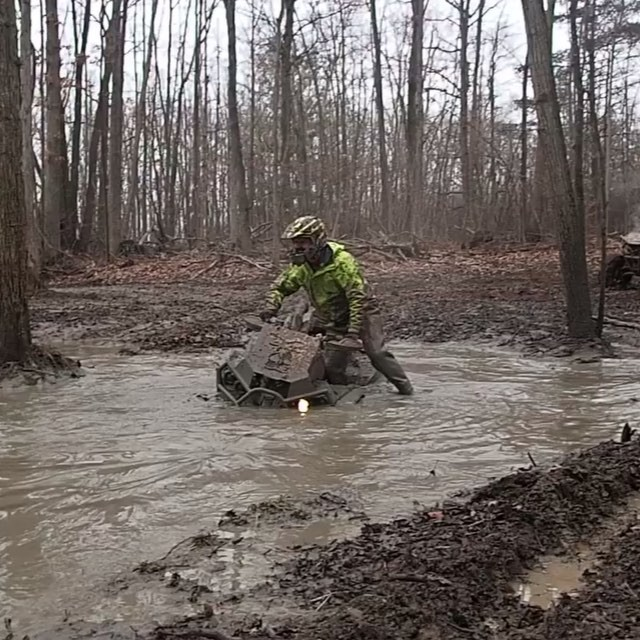 @martin_g_ace trying to get the #renegade thru a mud hole. Looks like #Highlifter #ol2 weren't enough #swampdonkeys