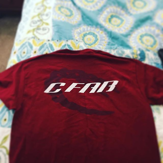 Thanks for the shirt @c_by_num #cfab #swampdonkeys #GLATV