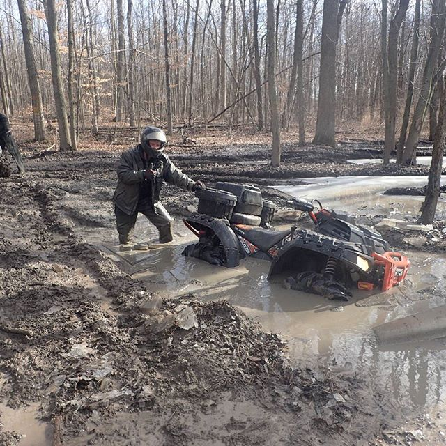 Who needs #4WD ? #SwampDonkeys
