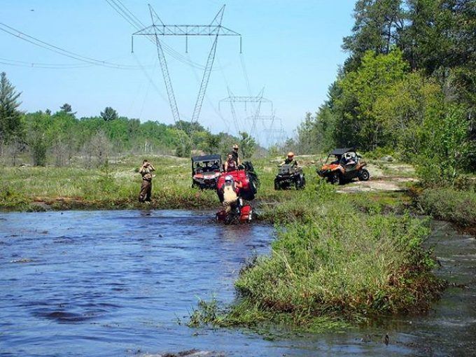 #Honda #water #wheelie #swampdonkeys