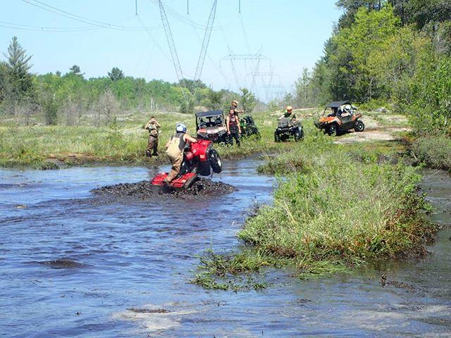 #Honda #water #wheelie #swampdonkeys