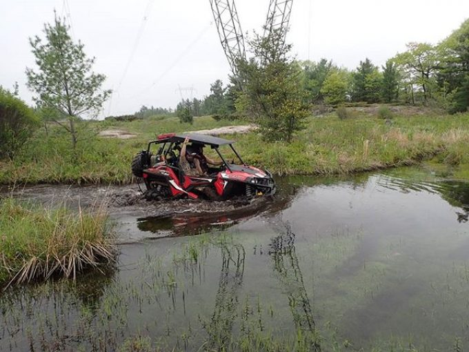 #RZR #900 #Trail in the murky waters of #ardbeg #swampdonkeys