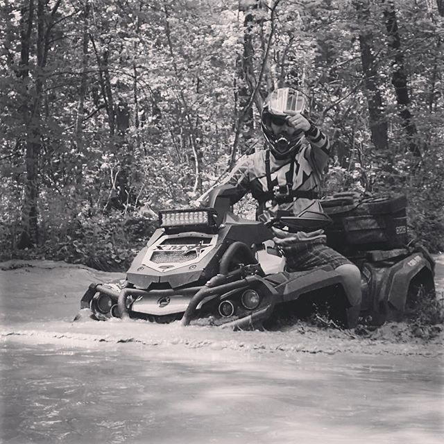 Trail scouting on the #canam #xmr with the #swampdonkeys