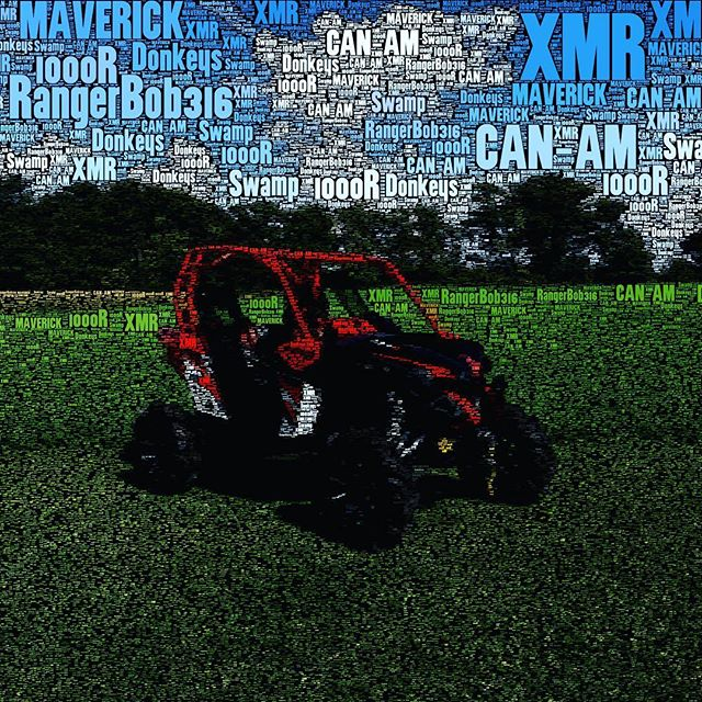 Break-in period begins. Only 8 more hours to go on the #maverickxmr #canam #xmr #1000r #signsgaloreinc #tigertail #TricLED #rigidindustries #gorillaaxle #RoxSpeedFX #RogueOffRoad #ProVantage #swampdonkeys