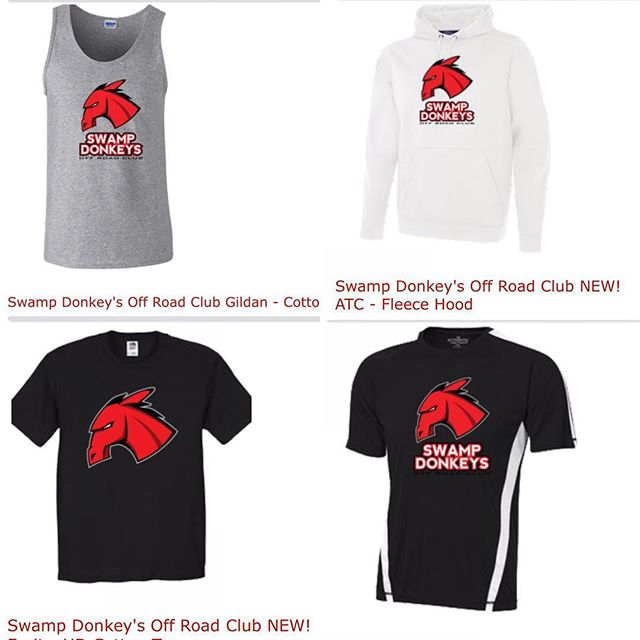 #swampdonkeys Apparel is ready for order. Go to www.swampdonkeys.ca to order