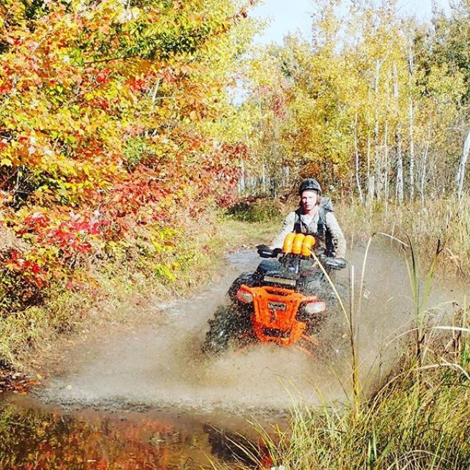 @sawmiller07 has two gears. Park and Pin It. I don't know that his #highlifter has been in park often. #swampdonkeys