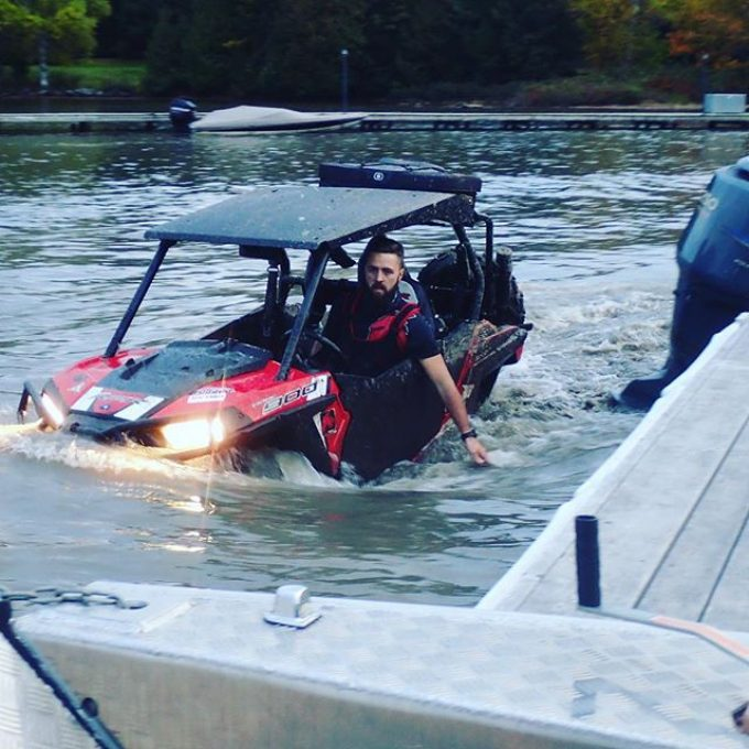 Rescue mission underway. #swampdonkeys #rzr900trail #snorkelyouratv #muskoka