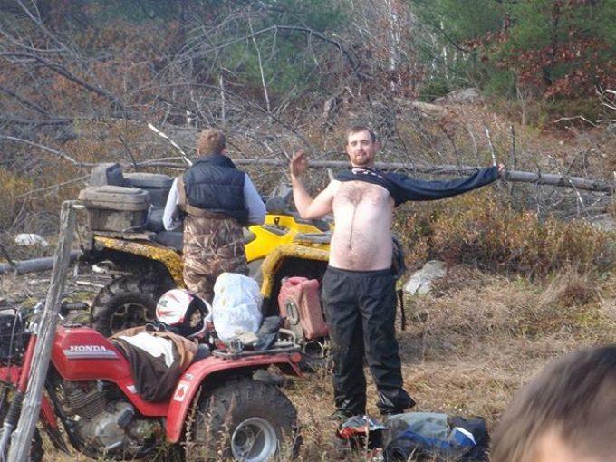 #Honda #Bigred #NoShirt #swampdonkeys