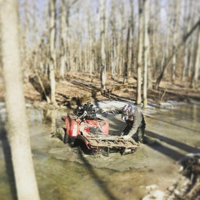 @adam.stanley.549 found a hole at #hawksnest #grizzly #700 #swampdonkeys