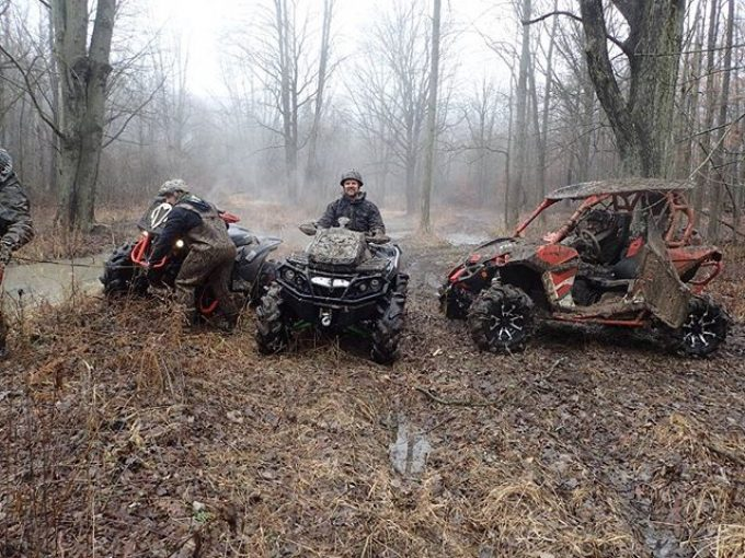 #Hawksnest #beer #break  #CanAmMonsters #MaverickXMR #1000 #canam #XMR #GorillaAxle #SwampDonkeys