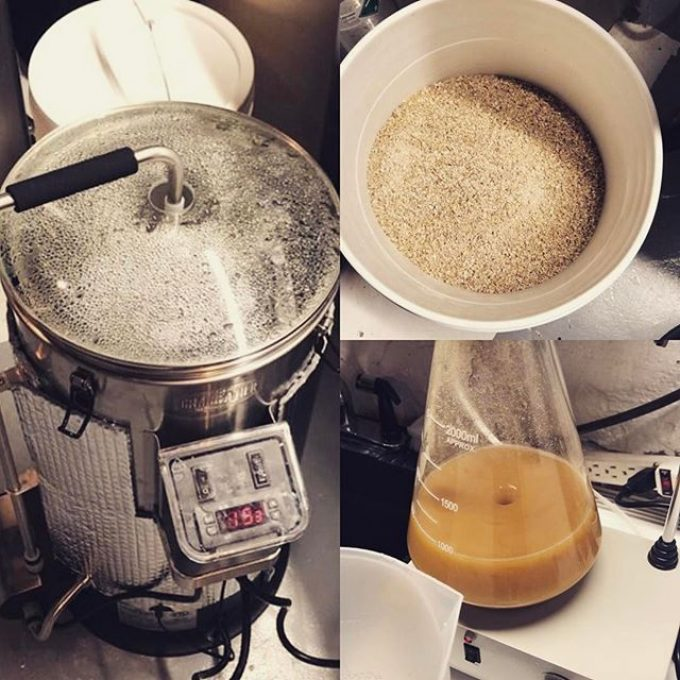 #creemoresprings #clone. In the #grainfather tonight. For the #swampdonkeys off-road weekend.