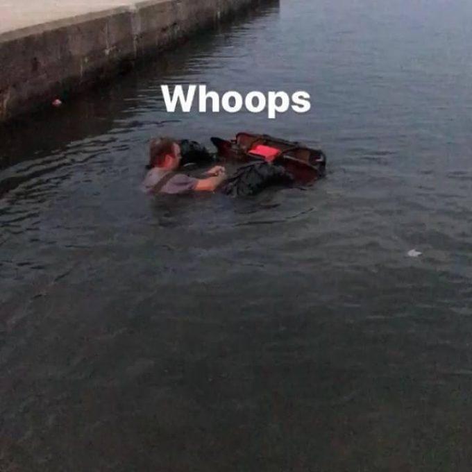 #drowned #rat #atvfail #honda #swampdonkeys @chriscross4653