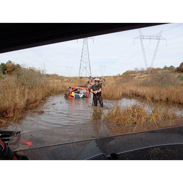 @Martin_G_Ace #MaverickXMR #1000 #planted #stuck #mud #swampdonkeys