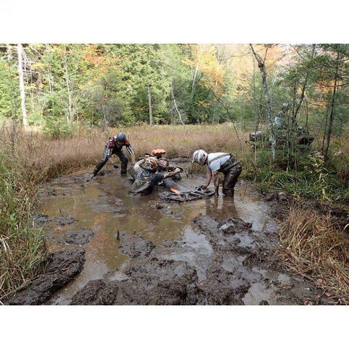 @mr._lifter getting #stuck #swampdonkeys