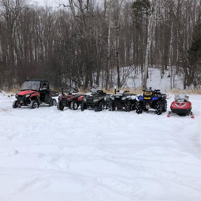 Winter wonderland. #swampdonkeys #hondarubicon
