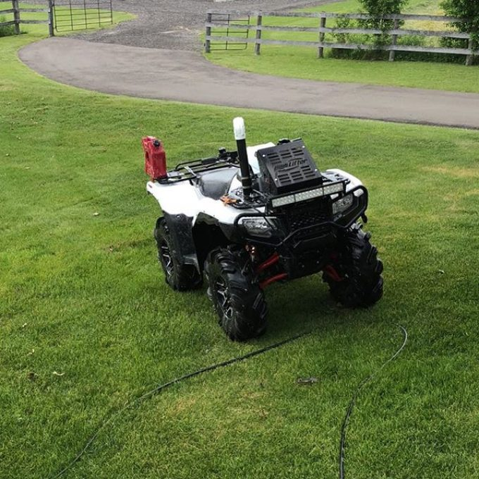 Finally had the chance to clean up the #Honda. #rubicon #highlifter #swampdonkeys