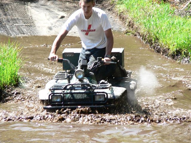 @tomdrich going deep #swampdonkeys #throwback