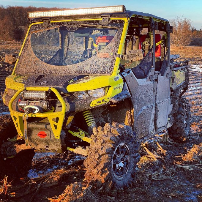 Took the #defenderxmr #outforarip today with a few good boys #swampdonkeys